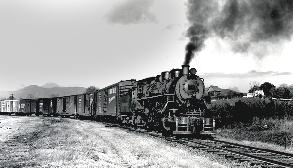 blue ridge southern railroad