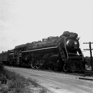 Earle - CN 4-8-4 No. 6233 C