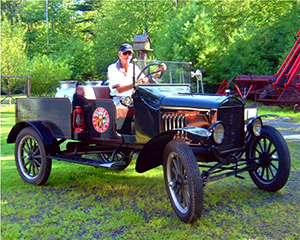 Earle with Antique Pickup Truck 2006