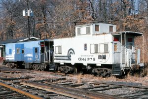 Conrail Work Train Caboose 2