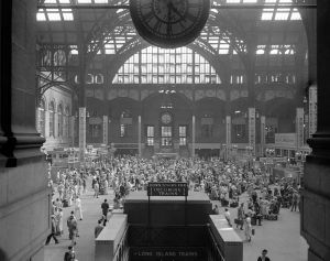 Penn Station - Yesterday 1963